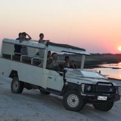 Offenes Safari Fahrzeug
