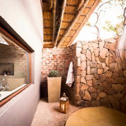 Außendusche Bushwa Lodge