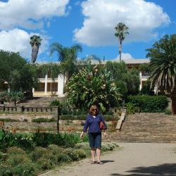 """Der """"Tintenpalast"""" in Windhoek"""