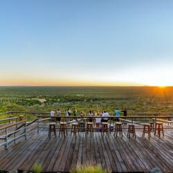 Sunset Terrasse Damara Mopane Lodge