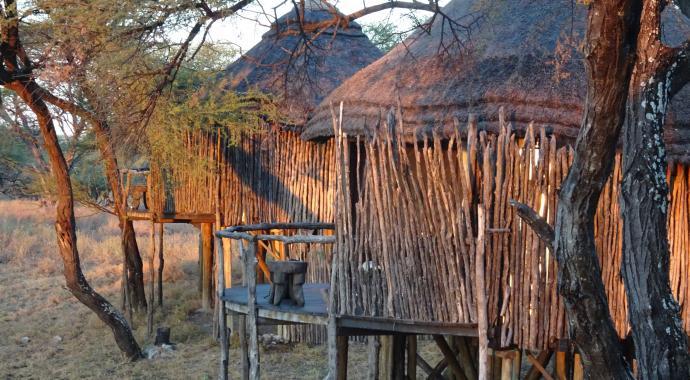Tree Top Camp im Onguma Game Reserve